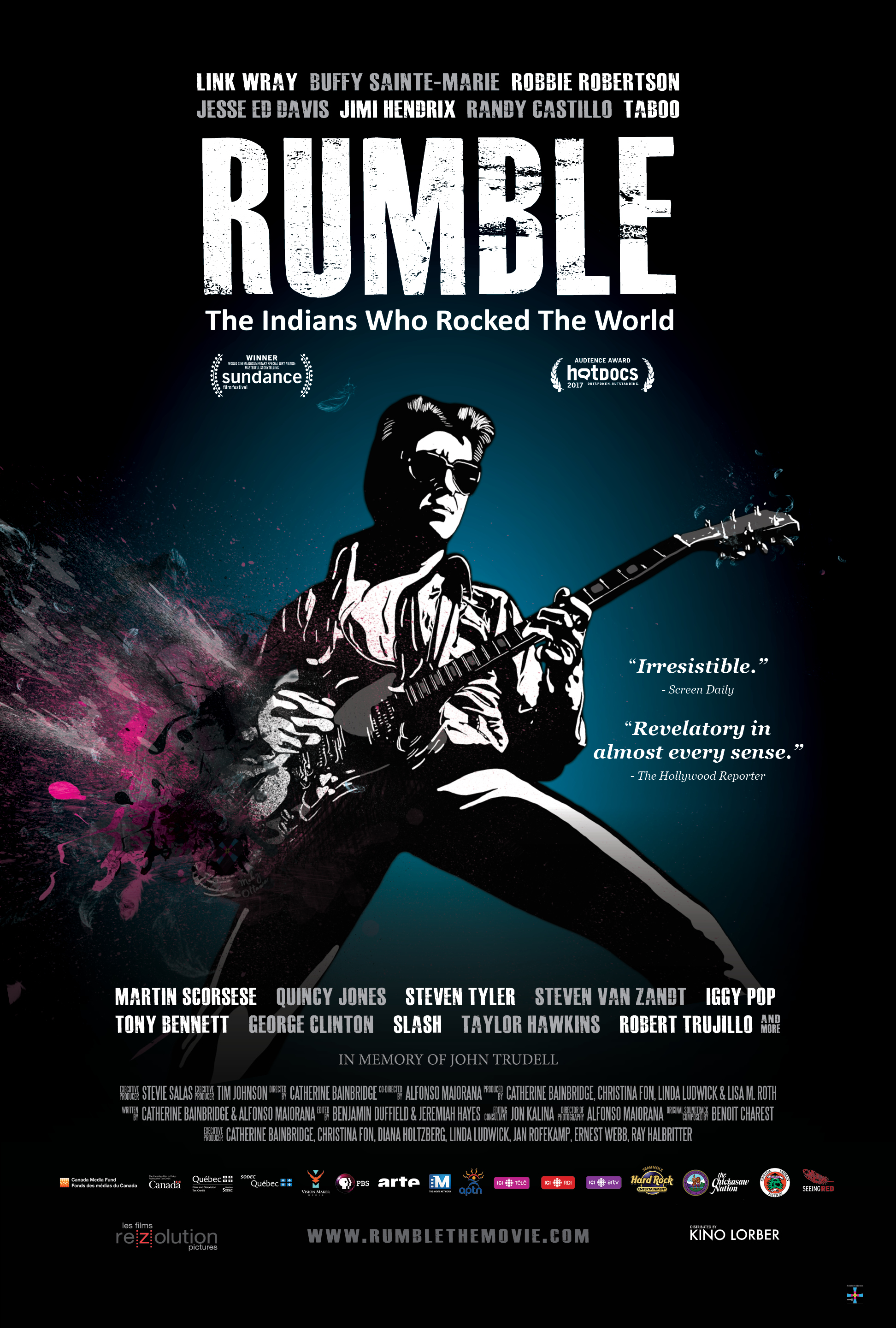 Updated Rumble Poster